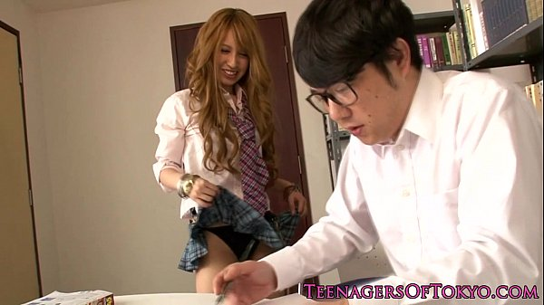 cockhungry japanese young blows and coitus teen japanese
