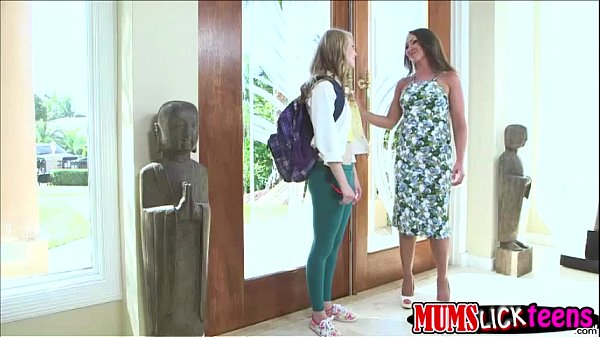 teen lily and milf yasmin in their sexy teen lesbian
