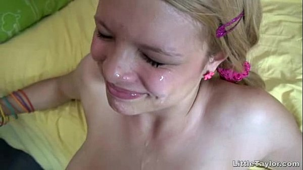 blonde teenage getting a vulva banging plus a teen blonde