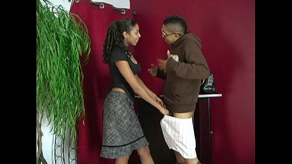 chocolate girl teen krystal wett receives 2 f teen ebony