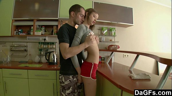 delicate russian gets assfucked in the cuisin teen russian