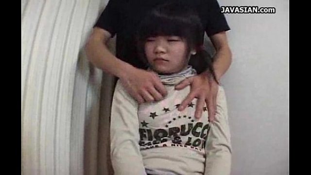 asian immature getting an awesome handjob teen asian