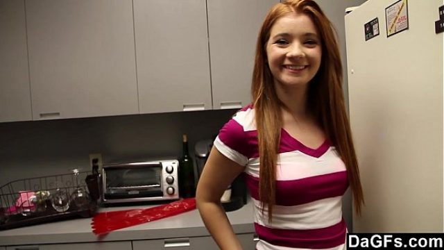 my gf wait anymore how amazing how yummy teen redhead
